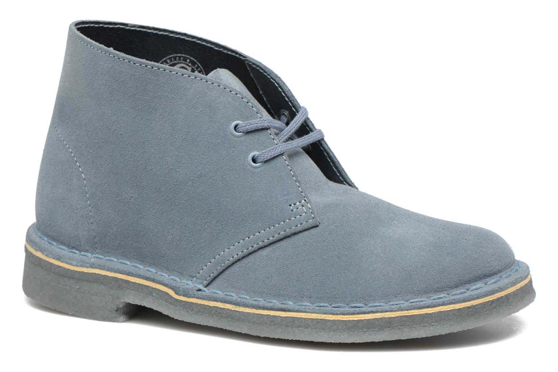 Desert Boot W Blue Grey