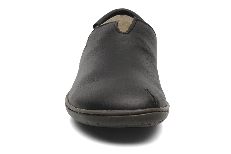 Mocassins El Naturalista El Viajero N275 Noir vue portées chaussures