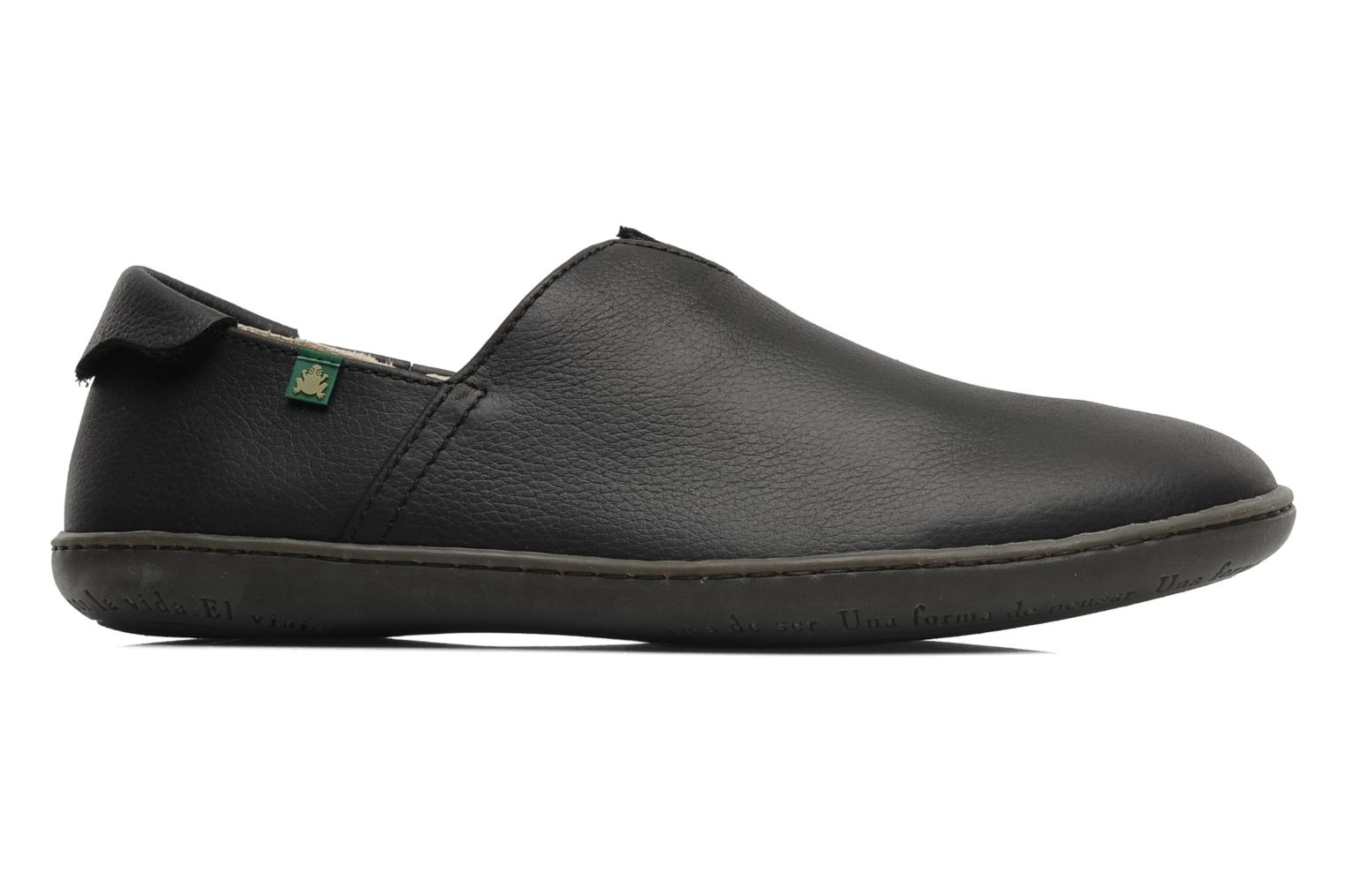 Loafers El Naturalista Viajero Moc N°275 Black back view