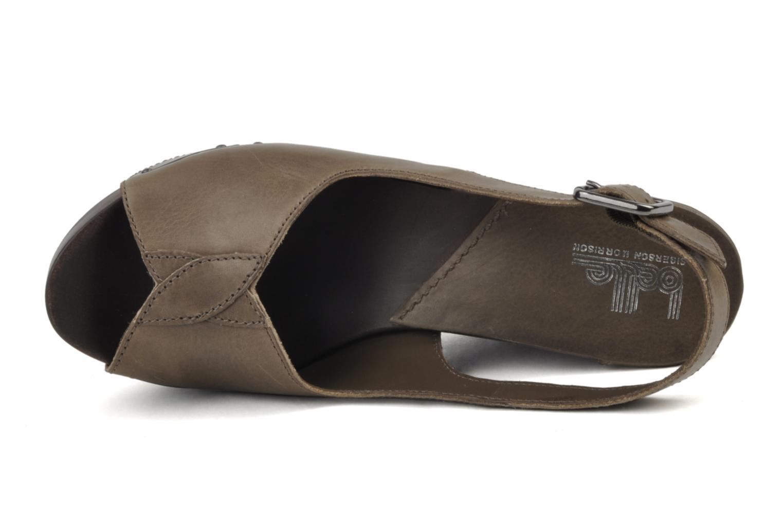 Sandales et nu-pieds Belle Melania Marron vue gauche