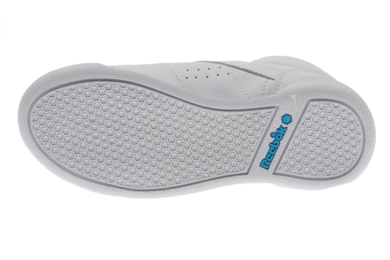 Sneakers Reebok Freestyle Hi Wit boven