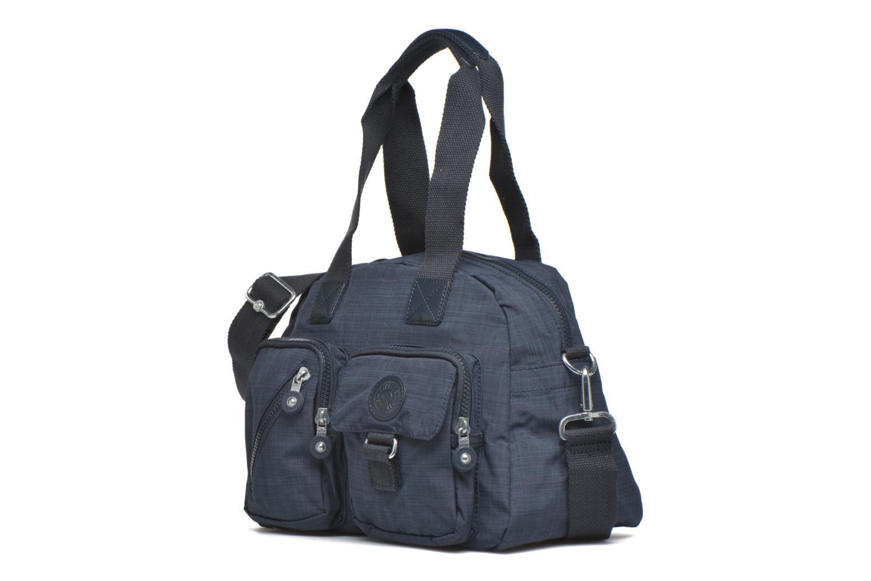 Handtaschen kipling Defea blau schuhe getragen