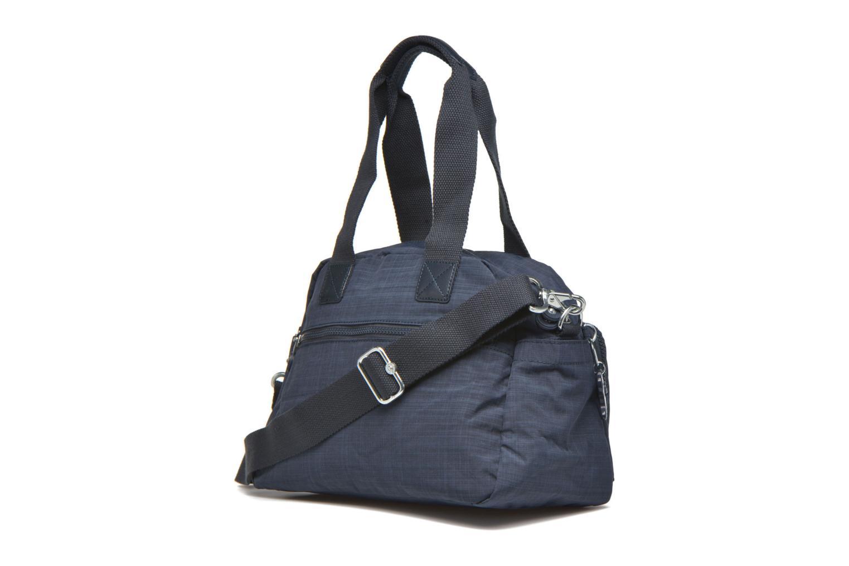 Handtaschen kipling Defea blau ansicht von rechts
