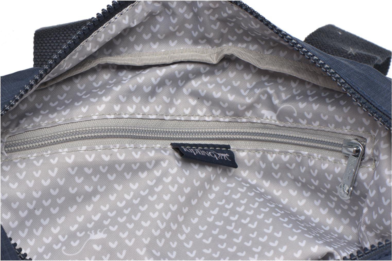 Handtassen kipling Defea Blauw achterkant