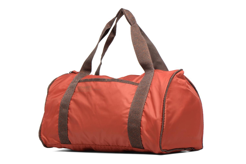 Sacs de sport Bensimon Color Bag Orange vue portées chaussures