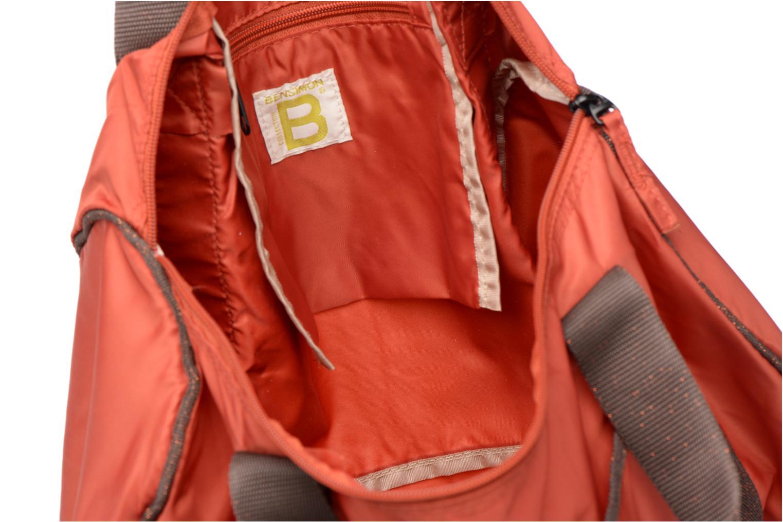 Sporttassen Bensimon Color Bag Oranje achterkant