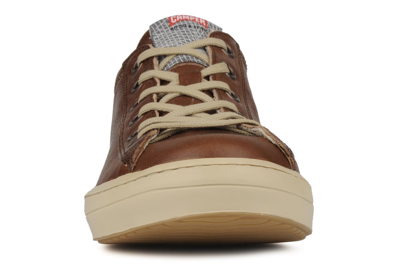 Baskets Camper Imar 18008 Marron vue portées chaussures
