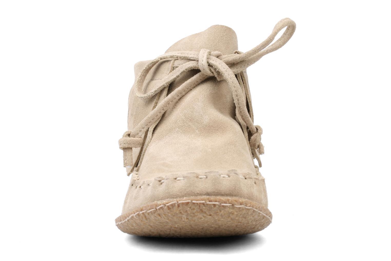 Bottines et boots Kickers Mohican Beige vue portées chaussures
