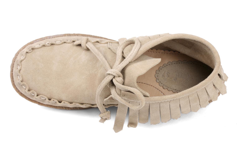 Bottines et boots Kickers Mohican Beige vue gauche