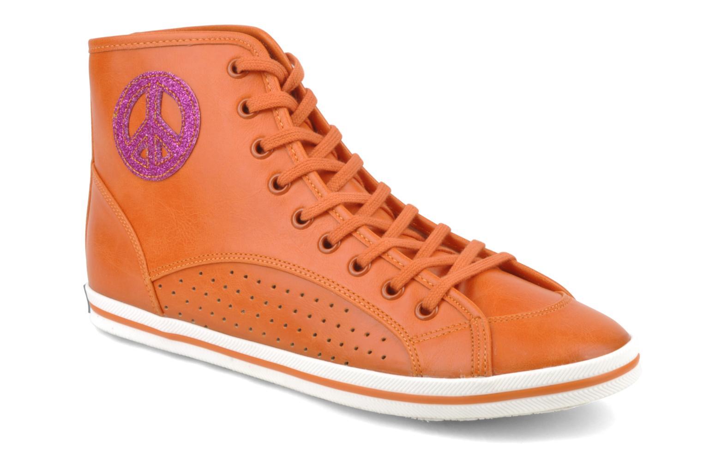 Baskets Buffalo Peace Orange vue détail/paire