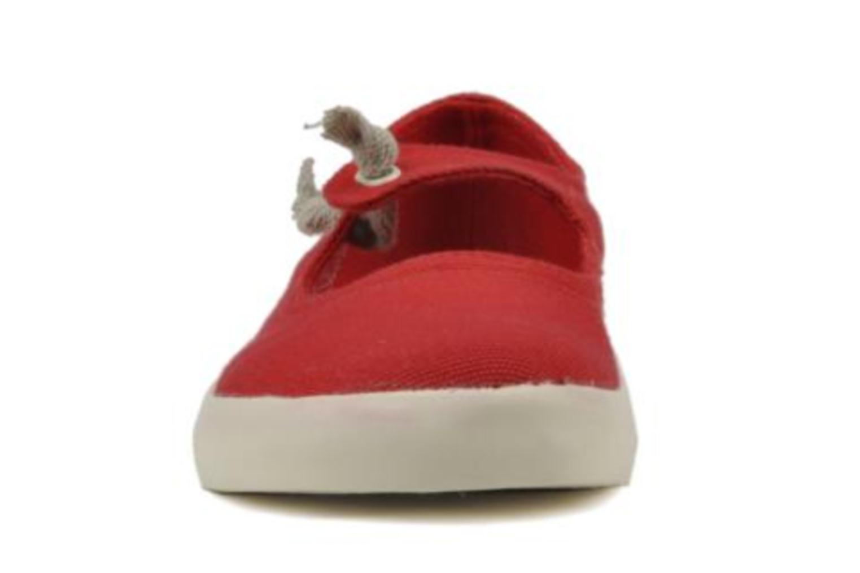 Ballerines Camper Peu Rambla 80128 Rouge vue portées chaussures