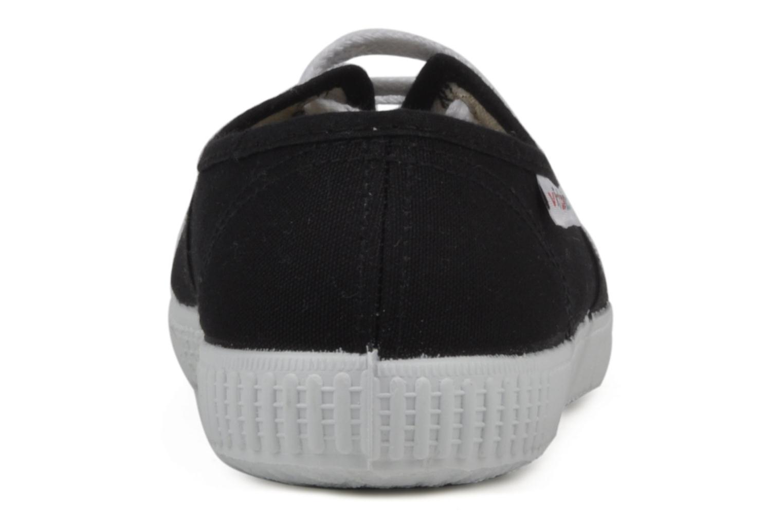 Baskets Victoria Victoria W Noir vue droite