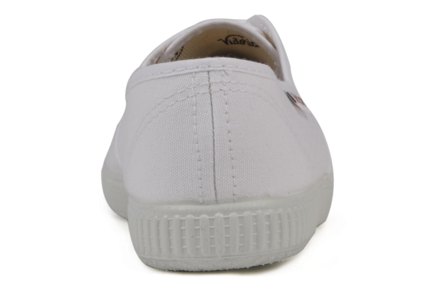 Trainers Victoria Victoria W White view from the right