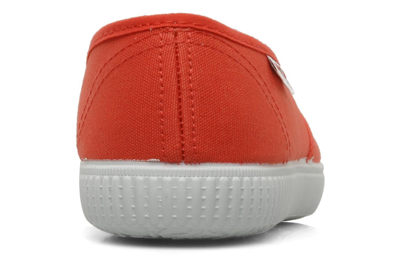 Sneaker Victoria Victoria W orange ansicht von rechts