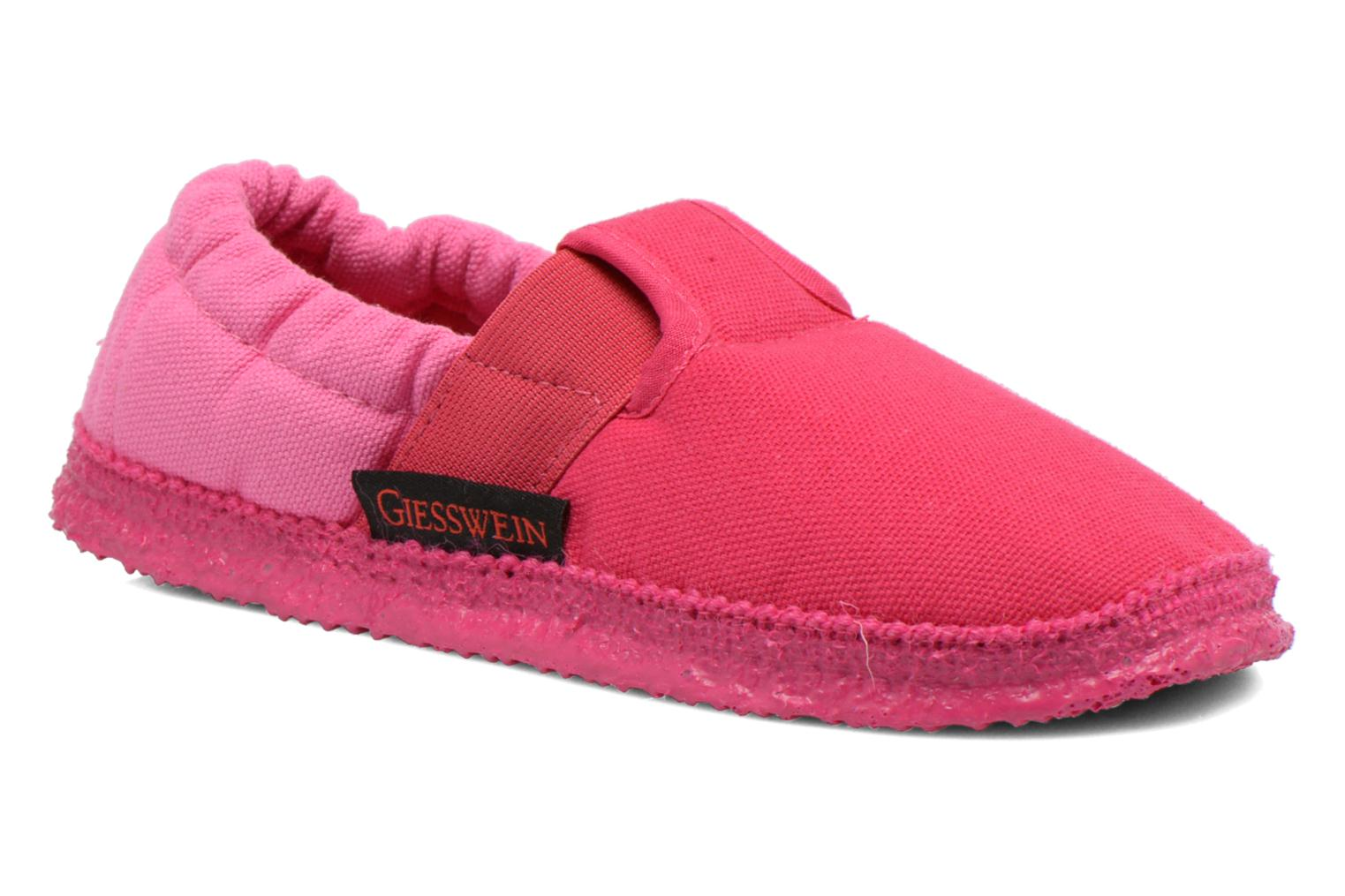 Chaussons Giesswein Aichach Rose vue détail/paire