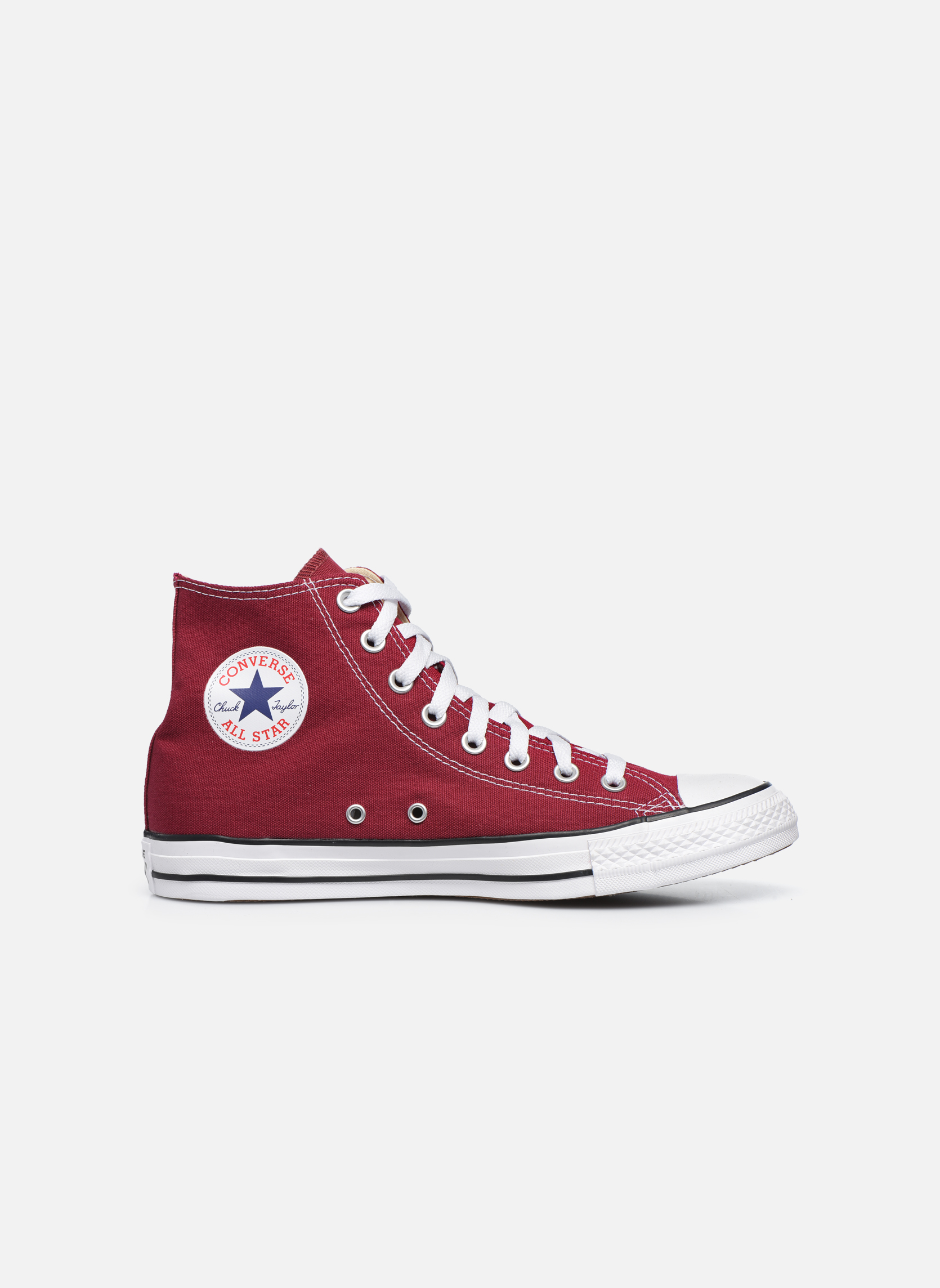 Sneakers Converse Chuck Taylor All Star Hi M Bordeaux achterkant