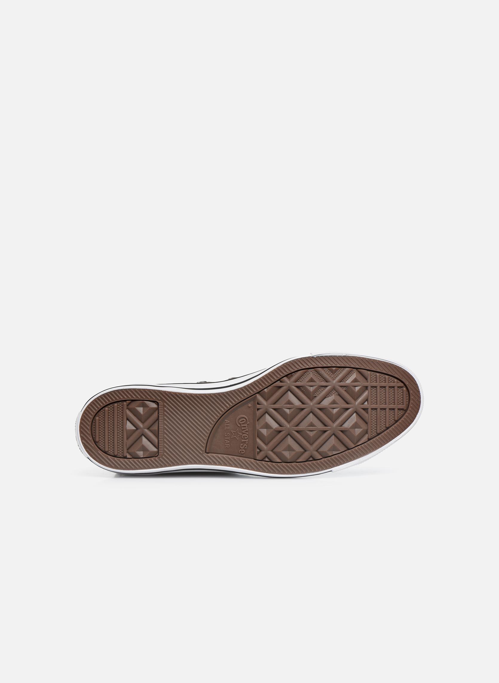 Sneakers Converse Chuck Taylor All Star Hi M Grigio immagine dall'alto