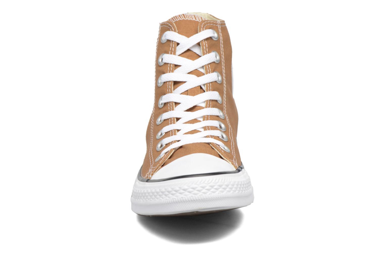 Sneaker Converse Chuck Taylor All Star Hi M braun schuhe getragen
