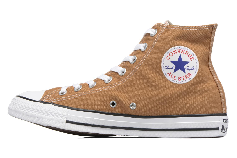 Sneaker Converse Chuck Taylor All Star Hi M braun ansicht von vorne