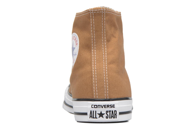 Sneaker Converse Chuck Taylor All Star Hi M braun ansicht von rechts