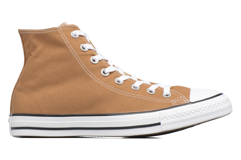 Sneaker Converse Chuck Taylor All Star Hi M braun ansicht von hinten