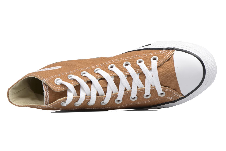 Sneaker Converse Chuck Taylor All Star Hi M braun ansicht von links