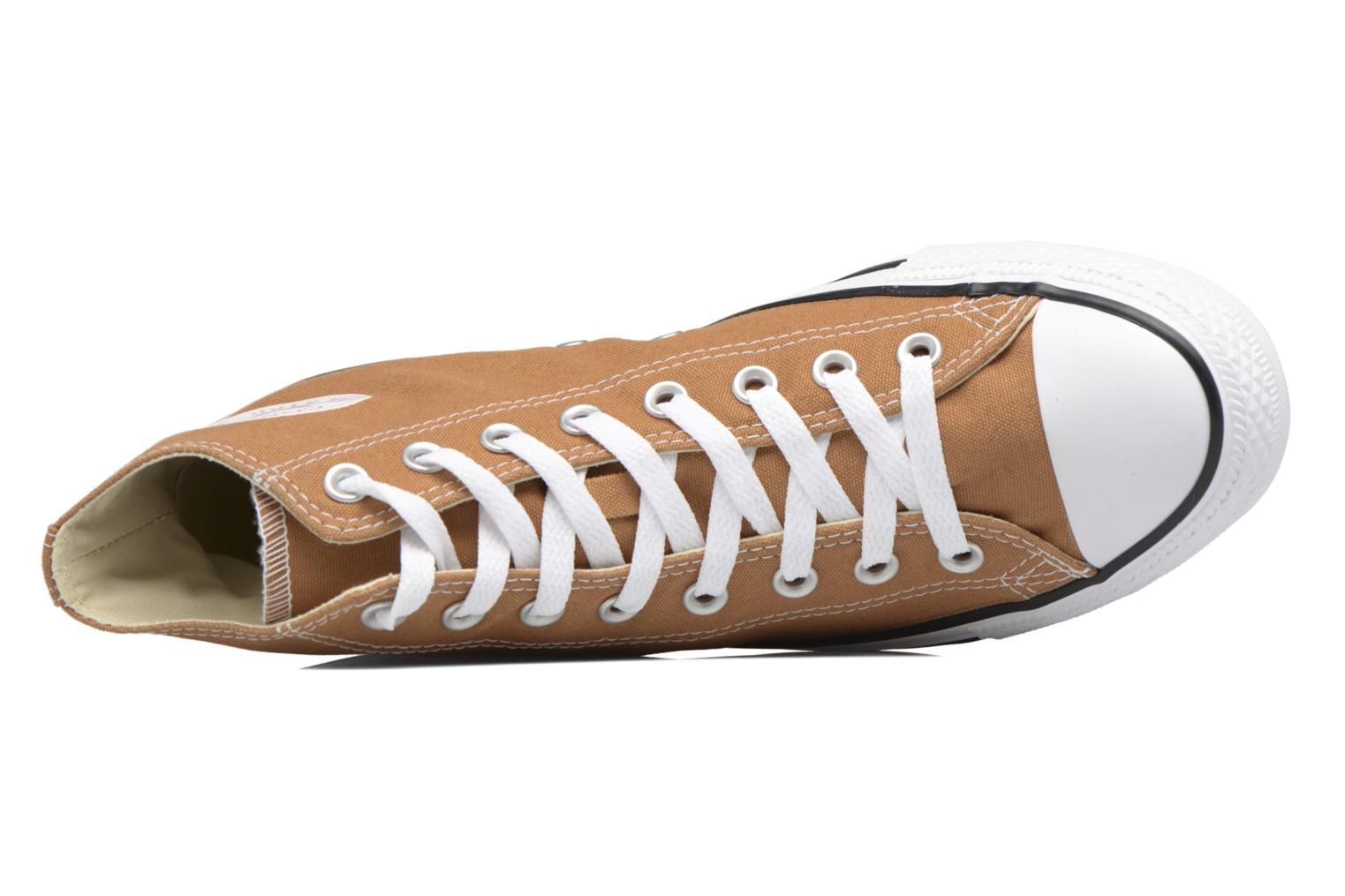 Sneakers Converse Chuck Taylor All Star Hi M Marrone immagine sinistra