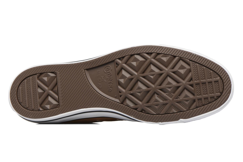 Sneaker Converse Chuck Taylor All Star Hi M braun ansicht von oben