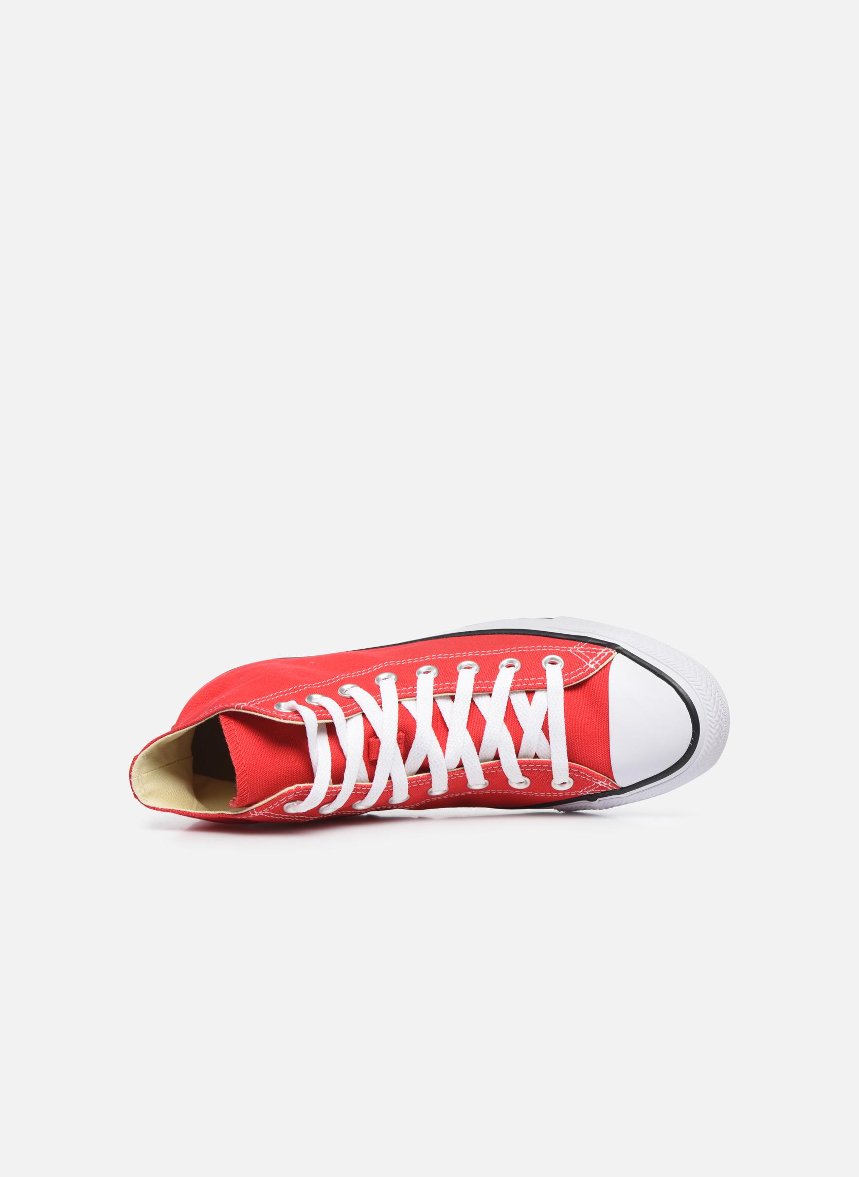 Sneaker Converse Chuck Taylor All Star Hi M rot ansicht von links