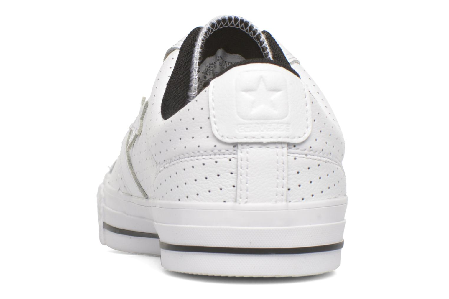 Baskets Converse Star Player Cuir Ev M Blanc vue droite