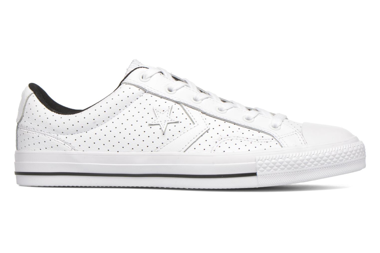 Sneakers Converse Star Player Cuir Ev M Wit achterkant