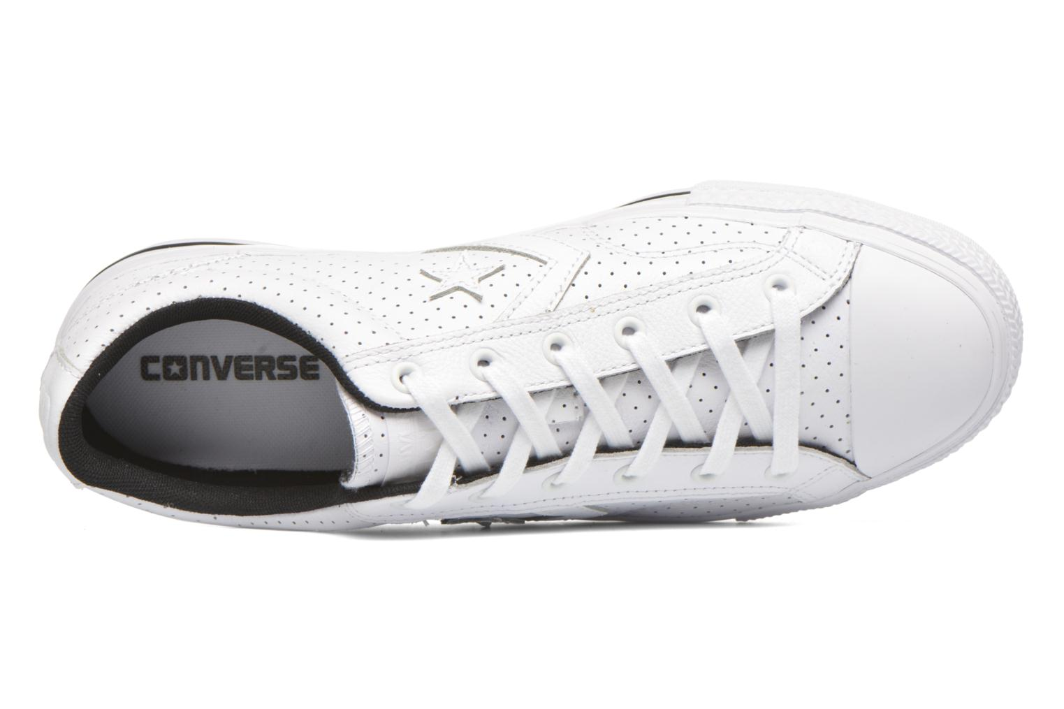 Baskets Converse Star Player Cuir Ev M Blanc vue gauche