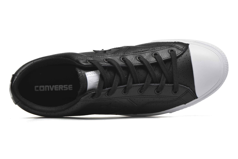 Sneakers Converse Star Player Cuir Ev M Zwart links