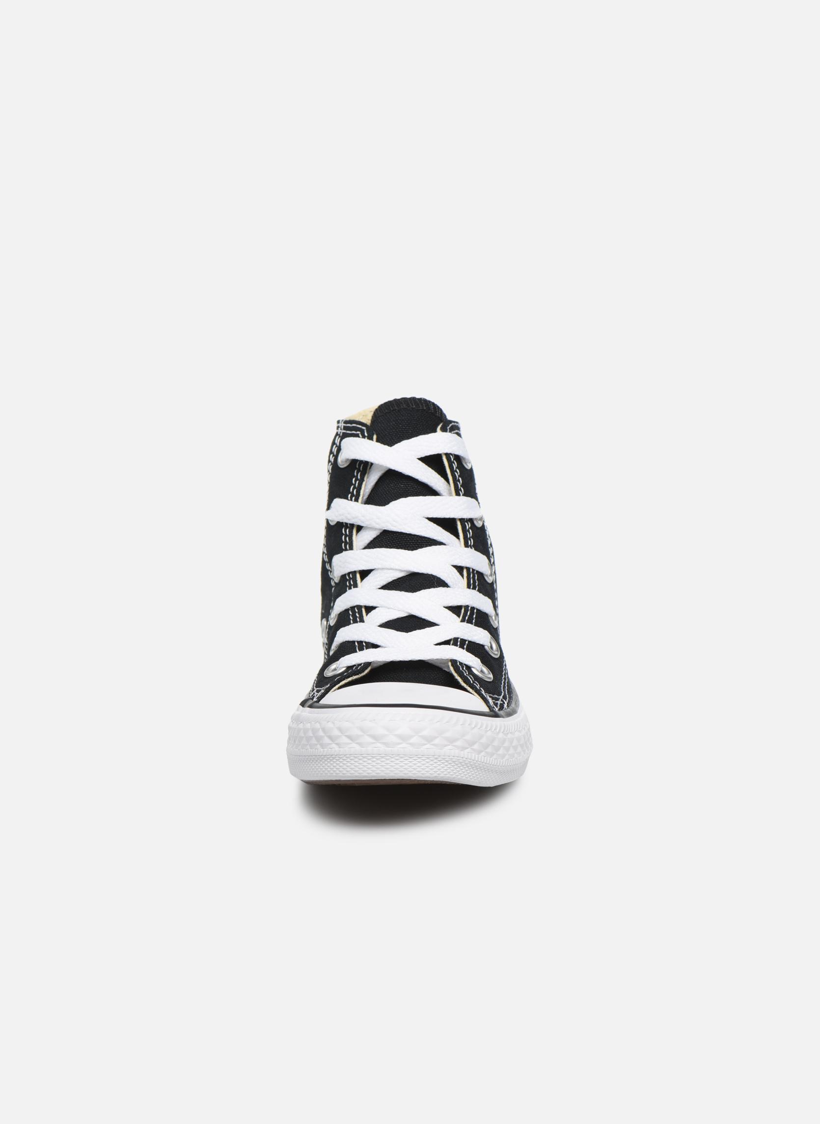 Baskets Converse Chuck Taylor All Star Core Hi Noir vue portées chaussures