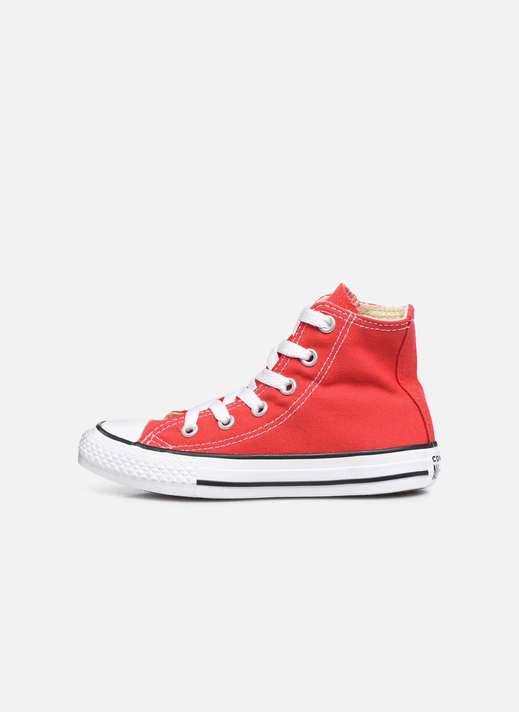 Sneaker Converse Chuck Taylor All Star Core Hi rot ansicht von vorne
