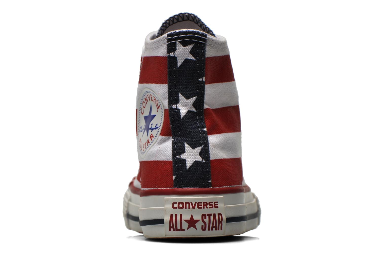 Sneaker Converse Chuck Taylor All Star Core Hi rot ansicht von rechts