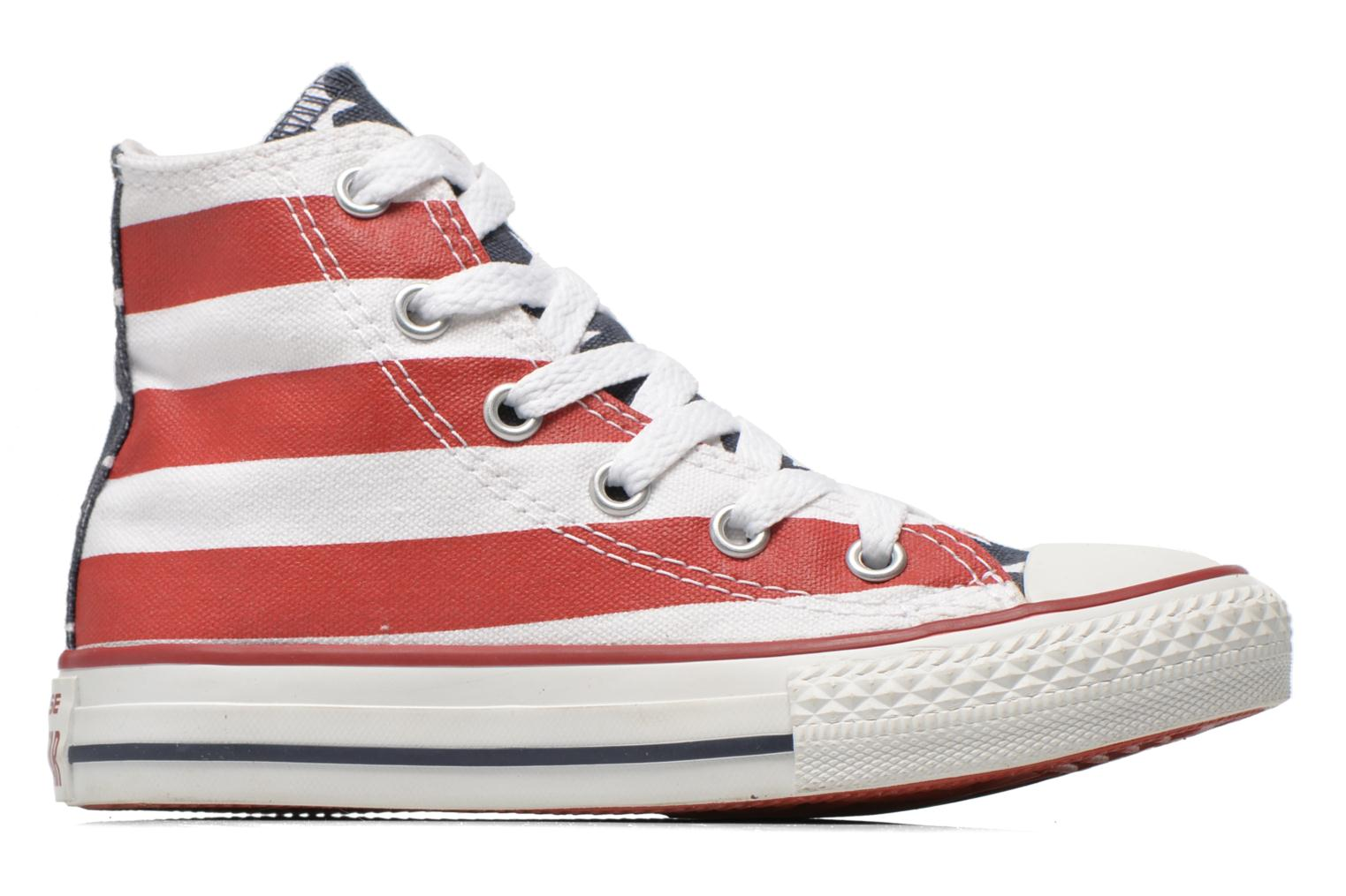Sneakers Converse Chuck Taylor All Star Core Hi Rood achterkant