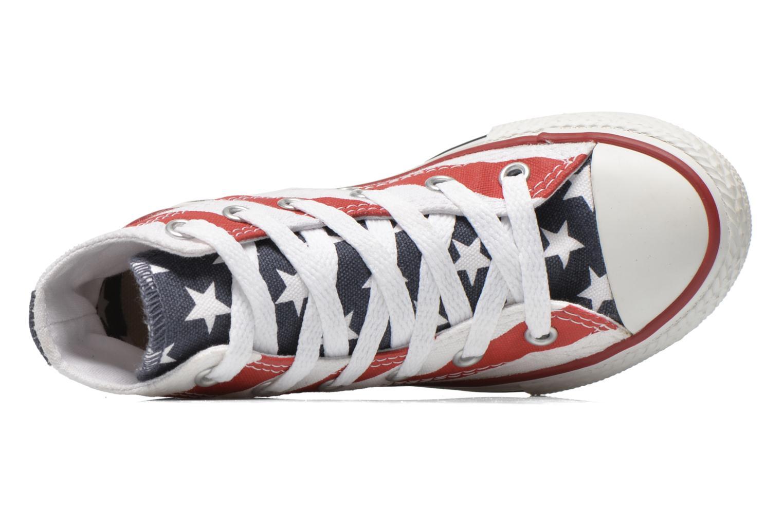 Sneaker Converse Chuck Taylor All Star Core Hi rot ansicht von links
