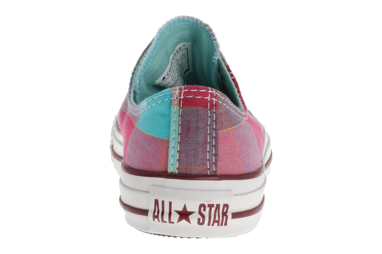 Chuck Taylor All Star Big Plaid Ox W Framboise/bleu
