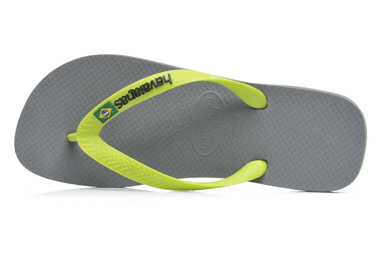 Flip flops Havaianas Brazil Logo H Grey back view