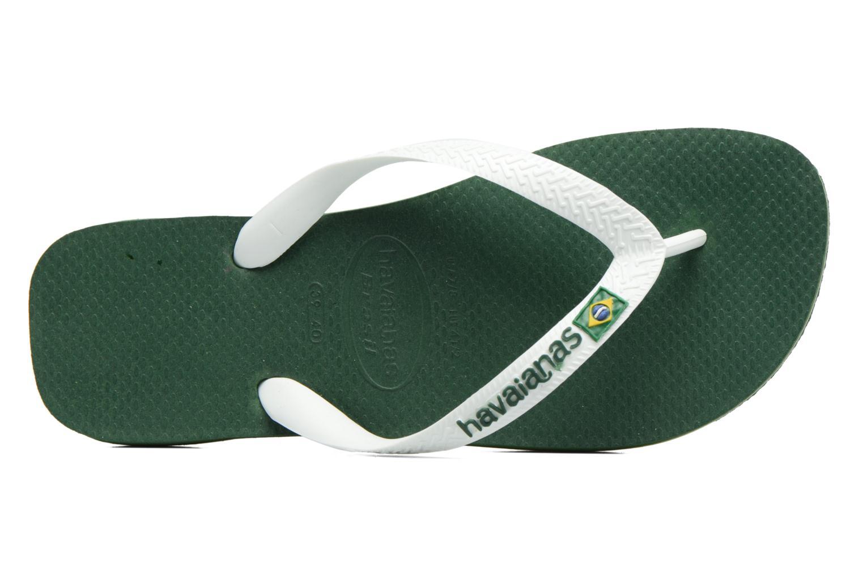 Tongs Havaianas Brazil Logo H Vert vue gauche