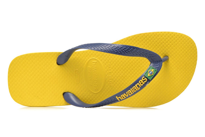 Slippers Havaianas Brazil Logo H Geel links