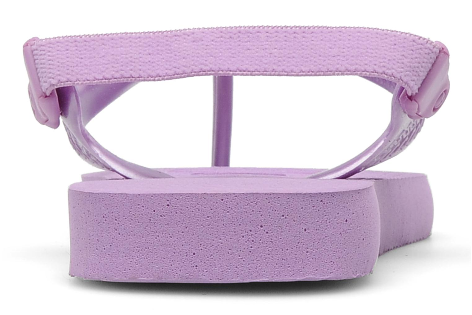 Flip flops Havaianas TOP BABY Purple view from the right