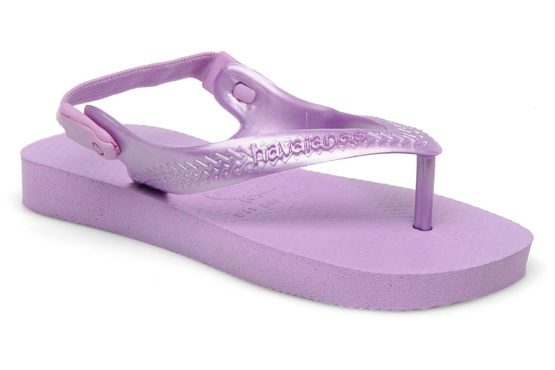 Tongs Havaianas TOP BABY Violet vue détail/paire