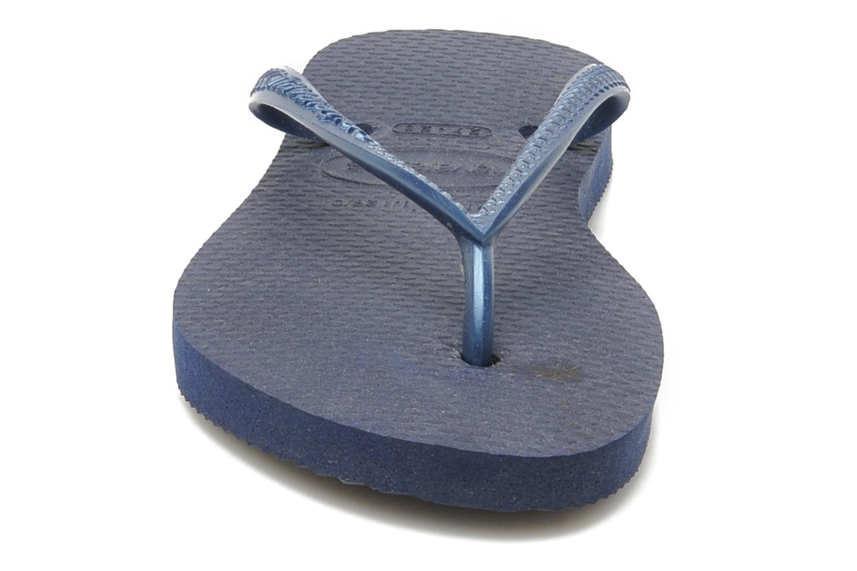 Flip flops Havaianas Kids Slim Blå bild av skorna på
