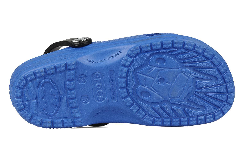 Sandals Crocs Batman Cayman Blue view from above