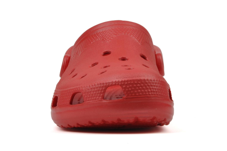 Sandales et nu-pieds Crocs Beach H Rouge vue portées chaussures