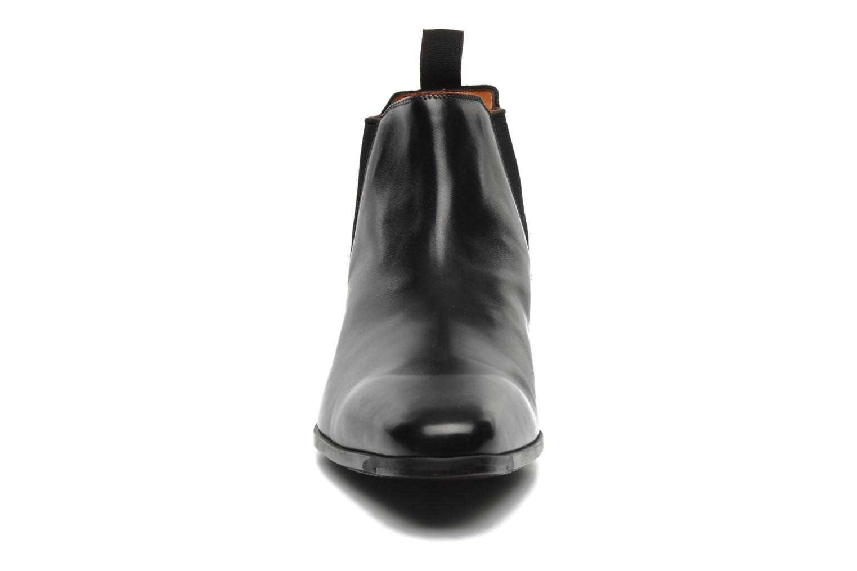 Stiefeletten & Boots Santoni Marlone 9291 schwarz schuhe getragen