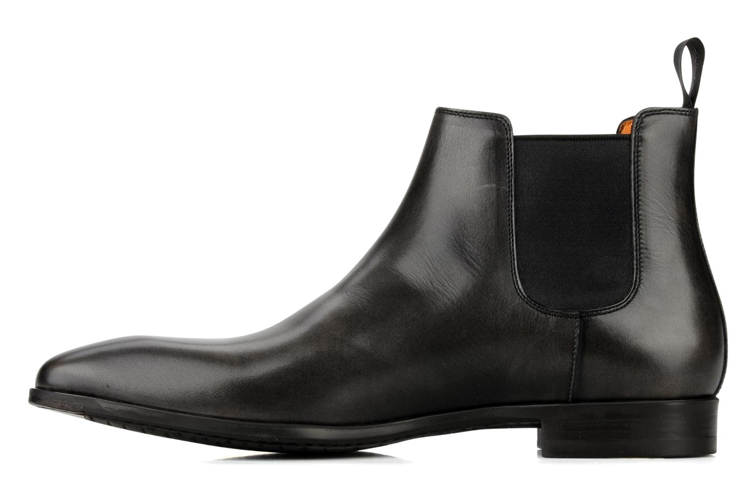 Ankle boots Santoni Marlone 9291 Grey front view