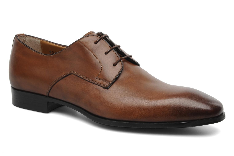 Zapatos con cordones Santoni Marlone 9290 Marrón vista de detalle / par